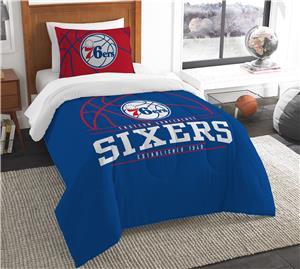 Northwest NBA 76ers Twin Comforter & Sham