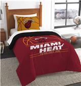 Northwest NBA Heat Twin Comforter & Sham