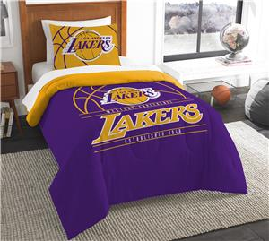 Northwest NBA Lakers Twin Comforter & Sham