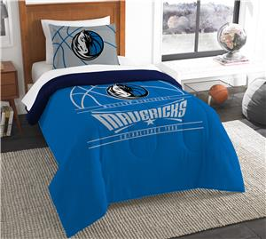 Northwest NBA Mavericks Twin Comforter & Sham