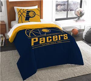 Northwest NBA Pacers Twin Comforter & Sham