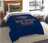 Northwest NBA Pelicans Twin Comforter & Sham