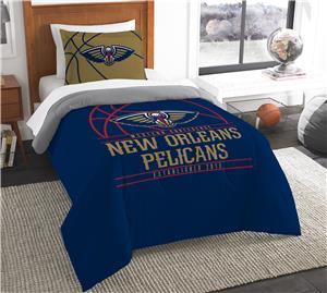 Northwest NBA Pelicans Twin Comforter & Sham
