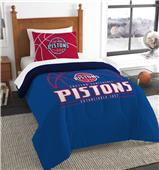 Northwest NBA Pistons Twin Comforter & Sham