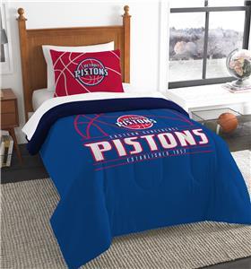 Northwest NBA Pistons Twin Comforter & Sham