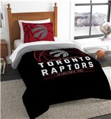 Northwest NBA Raptors Twin Comforter & Sham