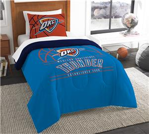 Northwest NBA Thunder Twin Comforter & Sham