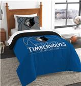Northwest NBA Timberwolves Twin Comforter & Sham