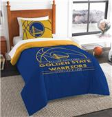 Northwest NBA Warriors Twin Comforter & Sham