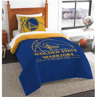 Northwest NBA Warriors Twin Comforter & Sham