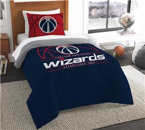 Northwest NBA Wizards Twin Comforter & Sham