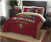 Northwest NFL 49ers Full/Queen Comforter & Shams