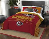 Northwest NFL Chiefs Full/Queen Comforter & Shams