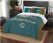 Northwest NFL Dolphins Full/Queen Comforter/Shams