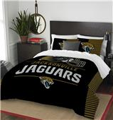 Northwest NFL Jaguars Full/Queen Comforter & Shams
