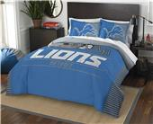 Northwest NFL Lions Full/Queen Comforter & Shams