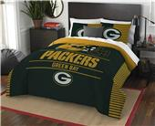 Northwest NFL Packers Full/Queen Comforter & Shams