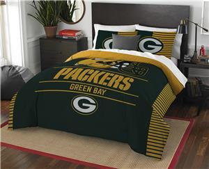 Northwest NFL Packers Full/Queen Comforter & Shams