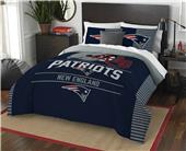 Northwest NFL Patriots Full/Queen Comforter/Shams