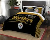 Northwest NFL Steelers Full/Queen Comforter/Shams