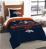Northwest NFL Broncos Twin Comforter & Sham