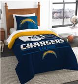 Northwest NFL Chargers Twin Comforter & Sham