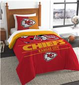 Northwest NFL Chiefs Twin Comforter & Sham