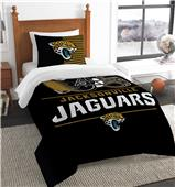 Northwest NFL Jaguars Twin Comforter & Sham
