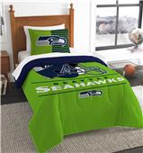 Northwest NFL Seahawks Twin Comforter & Sham