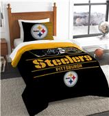 Northwest NFL Steelers Twin Comforter & Sham