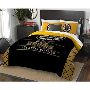 Northwest NHL Bruins Full/Queen Comforter & Shams
