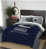 Northwest NHL Canucks Full/Queen Comforter & Shams