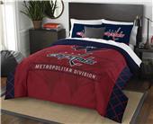 Northwest NHL Capitals Full/Queen Comforter/Shams