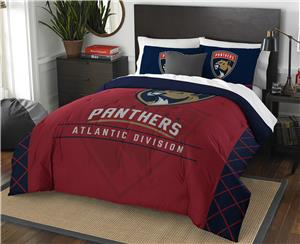 Northwest NHL Panthers Full/Queen Comforter/Shams