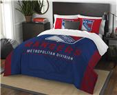 Northwest NHL Rangers Full/Queen Comforter & Shams