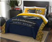 Northwest NHL Predators Full/Queen Comforter/Shams