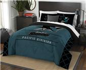 Northwest NHL Sharks Full/Queen Comforter & Shams