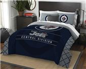 Northwest NHL Jets Full/Queen Comforter & Shams