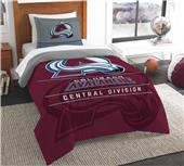 Northwest NHL Avalanche Twin Comforter & Sham