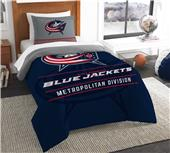 Northwest NHL Blue Jackets Twin Comforter & Sham