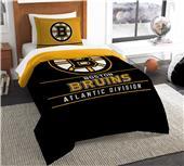 Northwest NHL Bruins Twin Comforter & Sham