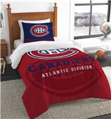 Northwest NHL Canadiens Twin Comforter & Sham