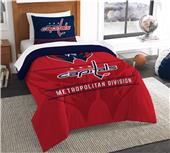 Northwest NHL Capitals Twin Comforter & Sham
