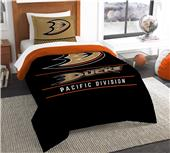 Northwest NHL Ducks Twin Comforter & Sham