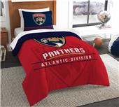 Northwest NHL Panthers Twin Comforter & Sham