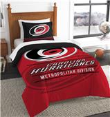 Northwest NHL Hurricanes Twin Comforter & Sham