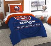 Northwest NHL Islanders Twin Comforter & Sham