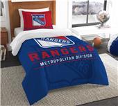 Northwest NHL Rangers Twin Comforter & Sham