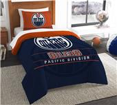 Northwest NHL Oilers Twin Comforter & Sham
