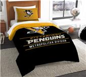 Northwest NHL Penguins Twin Comforter & Sham